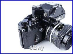 Nikon F2s Photomic 35mm Film Manual Slr Camera + 55mm F3.5 Micro Nikkor Lens Dp3