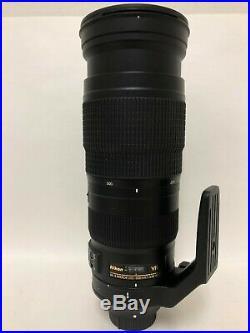 Nikon Lens AF-S Nikkor 200-500mm f/5.6E ED VR Used