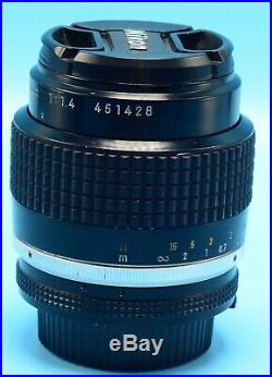 Nikon NIKKOR 35mm f/1.4 Ai-S Lens Exc++++++WithCaps 3RD