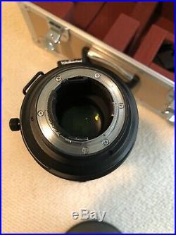 Nikon NIKKOR 400mm F2.8G VR Lens + Extras