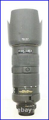 # Nikon NIKKOR 80-200mm f/2.8 AF-S D IF ED Lens S/N 248267