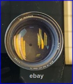 Nikon NIKKOR 85mm f/1.4 D AF Lens Black