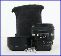 Nikon NIKKOR 85mm f/1.8 D AF Lens
