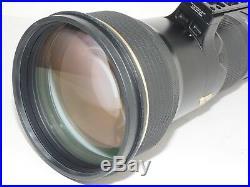 Nikon NIKKOR AF-S 600mm f4 G SWM VR IF lens. With Gimbal. Nikon D5, D850 CLA'd