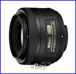 Nikon NIKKOR AF-S DX NIKKOR 35mm F1.8G Lens for DSLR SLR Camera