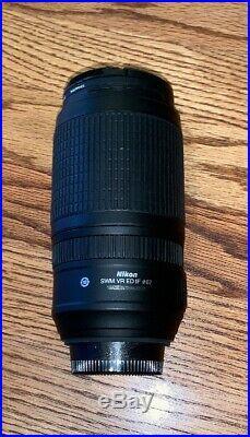 Nikon NIKKOR Zoom 70-300mm f/4.5-5.6 AF-S G ED IF VR SWM M/A Ø67 Lens