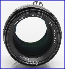Nikon Nikkor 105mm 105 mm 12.5 2.5 AIS