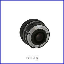 Nikon Nikkor 20mm F/2.8 D Autofocus Lens Black Wide-Angle 62 UG