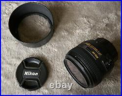 Nikon Nikkor 50mm F/1.4 G AF-S Lens