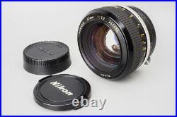 Nikon Nikkor 55mm f/1.2 F1.2 Non-Ai Manual Focus Prime Lens, For Nikon F Mount