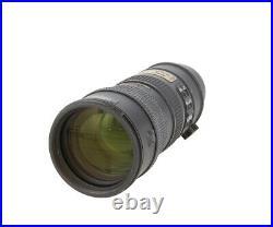 Nikon Nikkor 70-200mm F/2.8 G ED IF AF-S VR Autofocus Lens 77 UG