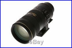 Nikon Nikkor 70-200mm F/2.8 G ED IF AF-S VR II Autofocus Lens 77