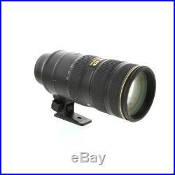 Nikon Nikkor 70-200mm F/2.8 G ED IF AF-S VR II Autofocus Lens 77 UG
