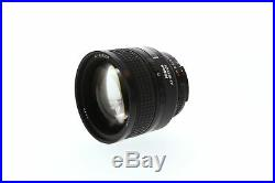 Nikon Nikkor 85mm F/1.4 D IF Autofocus Lens 77
