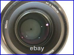 Nikon Nikkor 85mm F/1.8G AF-S Lens