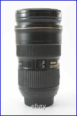 Nikon Nikkor AF-S 24-70mm f/2.8 G IF ED Lens With Front and Rear Lens Caps