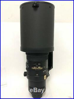 Nikon Nikkor AF-S 500MM f/4G VR ED IF with Lens Hood HK-34 Used