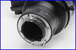 Nikon Nikkor AF-S 500mm f4 D ED II Lens 500/4 AFS #588