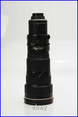 Nikon Nikkor AF-S 500mm f4 G ED VR Lens 500/4 AFS #870