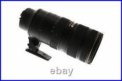 Nikon Nikkor AF-S 70-200mm F/2.8 G ED IF VR II Autofocus Lens 77 BG
