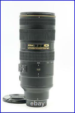 Nikon Nikkor AF-S 70-200mm f2.8 G II ED VR IF Lens AFS #481