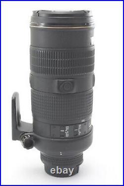 Nikon Nikkor AF-S 80-200mm F/2.8 D IF ED Lens With Genuine Hood and F/R Caps