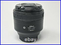 Nikon Nikkor AF-S 85mm f1.8 G Lens 85/1.8 Nice Photos