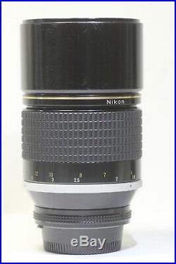 Nikon Nikkor AI-S ED 180mm f/2.8 Manual Focus MF Telephoto Lens Made In Japan