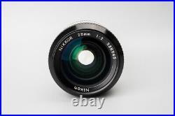 Nikon Nikkor Ai 28mm f/2 f2 Wide Angle Manual Focus Lens, For Nikon F Mount