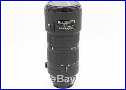 Nikon Zoom-NIKKOR AF Zoom-NIKKOR 80-200mm 80-200mm f/2.8 AF D ED Lens