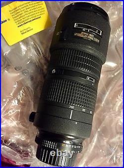 Nikon Zoom-NIKKOR AF Zoom-NIKKOR 80-200mm 80-200mm f/2.8 D AF ED Lens