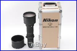 OPT MINT+++ Nikon Nikkor AI-S 600mm F/5.6 AIS ED IF Lens From JAPAN