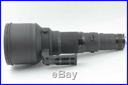 RARE Almost Unused in Box Nikon Ai-s Nikkor 600mm F/4 ED IF From JAPAN #432