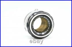 Rare Nikon F Eyelevel SLR 35mm Film Camera body + NIKKOR-S Auto 11.4 50mm lens