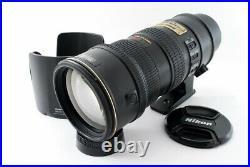 Read NIKON AF-S NIKKOR 70-200mm F/2.8 G VR ED Zoom Lens withHood From Tokyo Japan