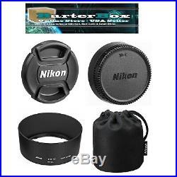 Sale Nikon 85 mm G Af-s Nikkor 85mm f/1.8G Lens 2201 Hood Pouch Free Cap Keeper