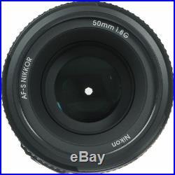 Sale Nikon Nikkor 50mm F/1.8G Fx As G Swm Af-s M/a Lens Memory + Filter kit, etc