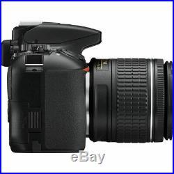 USA Seller Nikon D3500 DSLR Camera with AF-P DX NIKKOR 18-55mm Lens Black