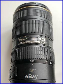 USED Nikon AF-S NIKKOR 70-200mm f/2.8G ED VR II Lens